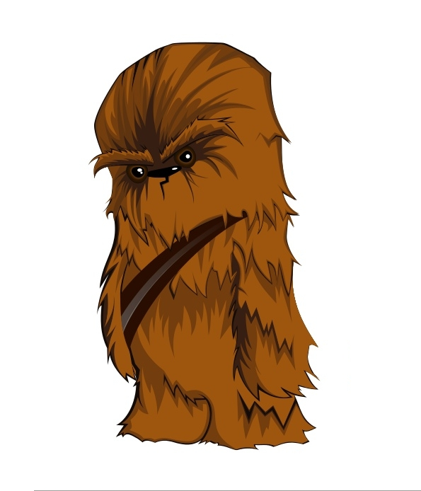 vector-star-wars-character-chewbacca-vske1v-clipart